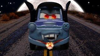 Cars Halloween Dracula Mater and the Vampire Minion