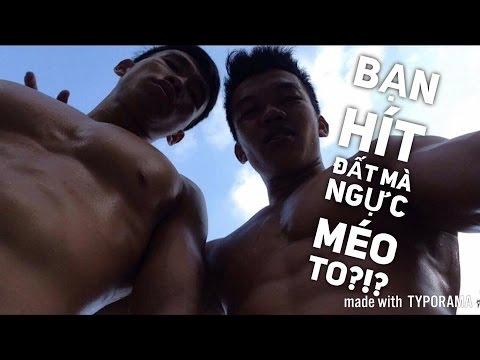 HÍT ĐẤT đúng cách nhưng Cơ ngực vẫn MÉO TO? - Street Workout Lang Hoa.