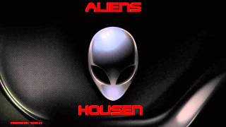 HOUSE ELECTRONIC MUSIC . ALIENS