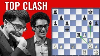 Top Clash - A new idea in the Catalan - Caruana vs Anand | Chess Olympiad 2018 Batumi |