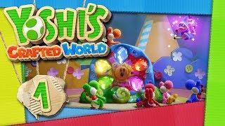 YOSHI'S CRAFTED WORLD 📦 #1: Streit um die strahlende Traumsonne der Yoshi-Insel