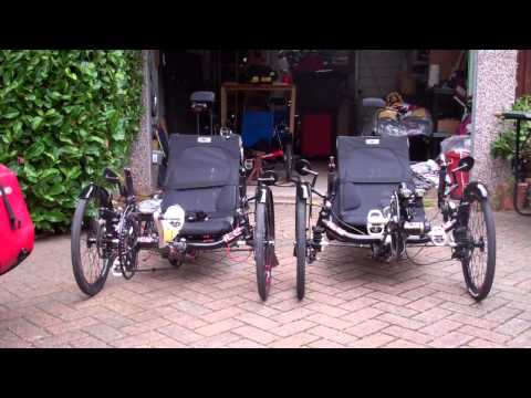 ICE TRIKE RECUMBENT SPRINT X FRS BILLED AND TEST RIDE  OCT 2014