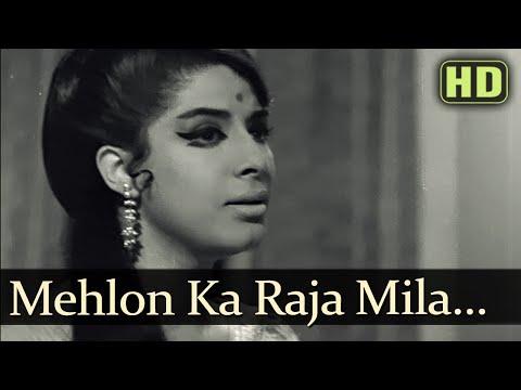 Mehlon Ka Raja - Zaheeda Hussain - Tarun Bose - Anokhi Raat - Bollywood Songs - Lata Mangeshkar video