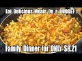 Budget Family Dinner for $8.21 - Eating GOOD on a Budget - The Wolfe Pit
