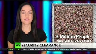 5.1 million people have US (security) clearance  4/1/14