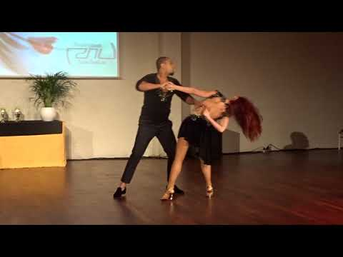 ZNL2018 Larissa & Kadu in performance ~ Zouk Soul