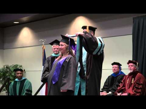 College of Education - Master's Hooding Ceremony - Fall 2012