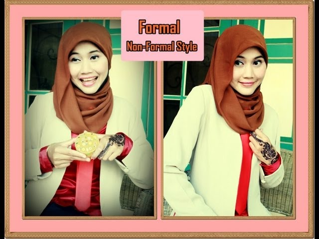 Tutorial Hijab Paris Simple | One Minute | Formal - Non Formal by Didowardah - Part #23