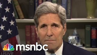 John Kerry Interview: 'We Need To Complete The Job In Iran