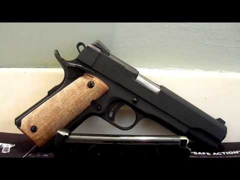 Rock Island Armory 1911A1 Tactical First 100 Rounds.