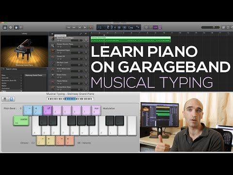 Learn To Play Piano On Garageband 1 How To Play
