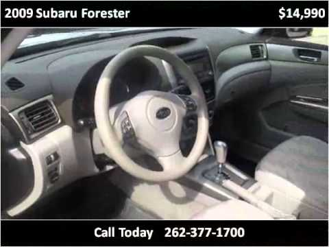 2009 Subaru Forester Used Cars Cedarburg WI