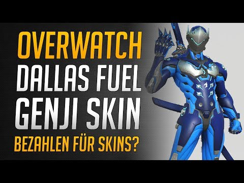DALLAS FUEL GENJI SKIN | Overwatch League Skins ohne Echtgeld? | ★ Overwatch Deutsch