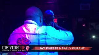 Jay Finesse & Bally Durant Performs at Coast 2 Coast LIVE | NYC All Ages Edition 10/17/18