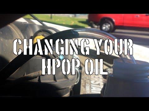 7.3L Changing the HPOP Oil - Sludge?