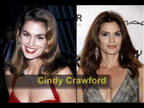 Actrices y Modelos famosas: Antes y Ahora