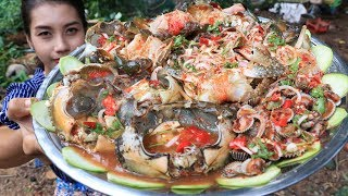 Yummy cooking Crab salad recipe - Cooking skill