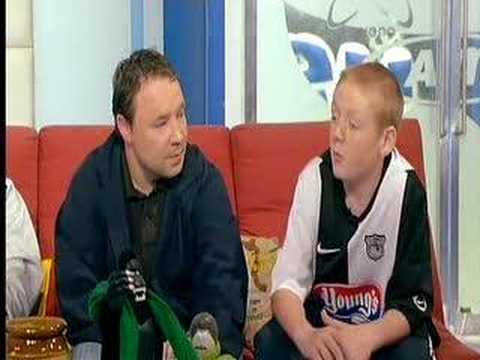 Stephen Graham and Tomo Turgoose on SoccerAM-This Is England Video