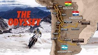 The route / El recorrido / Le parcours – Dakar 2017