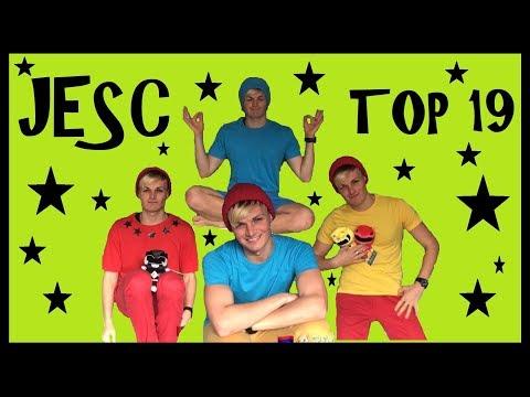 Lukeovision // Junior ESC // TOP 19 IN FLAGS!