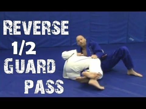 Reverse Half Guard Pass - Technique of Month - Pendergrass Academy of Martial Arts Image 1
