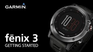 01. fenix 3: Getting Started