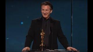 Sean Penn winning Best Actor for