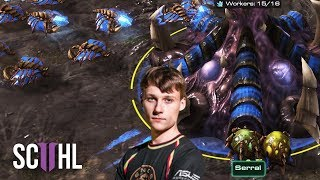STARCRAFT 2: SERRAL vs. TIME - Incredible Series