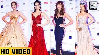 Best Dressed Actresses At Filmfare Glamour And Style Awards 2017 | LehrenTV