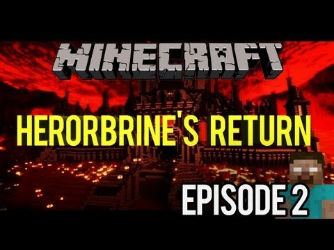 Minecraft: Herobrine's Return: Let's Play Ep. 2   Winning & ZOMBIES