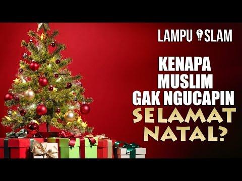 Inilah Alasan Muslim Gak Ngucapin Selamat Natal Ke Umat Kristen