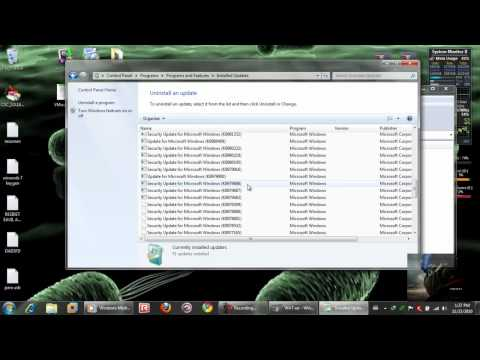wat y las actualizaciones en windows 7
