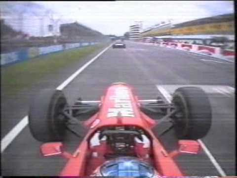 The First 2 Laps of the San Marino Grand Prix 1997.