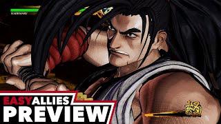 Samurai Shodown - Hands-On Preview - Easy Allies