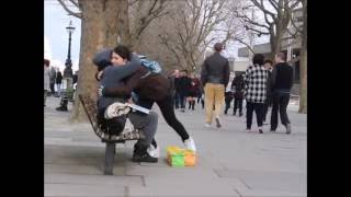 """A homeless woman gets a chance to """"GIVE"""" Amazing Reactions!"""