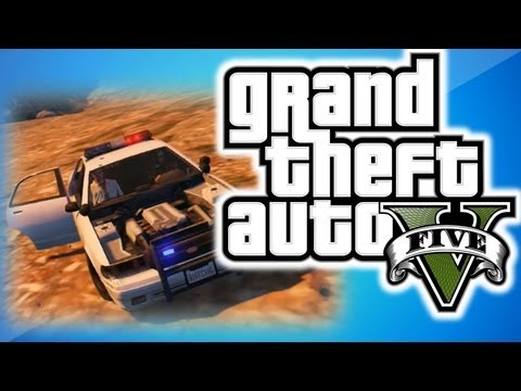 GTA 5 Online Multiplayer Funny Moments 3 - Mt Chiliad, Terrible Robbers, and Explosions