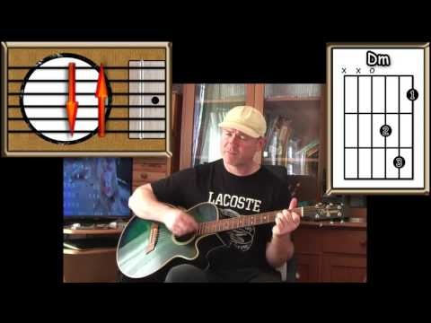 Golden Slumbers / Carry That Weight - The Beatles - Acoustic Guitar Lesson (detune By 1 Fret)