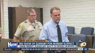 video Family shows support for murder suspect