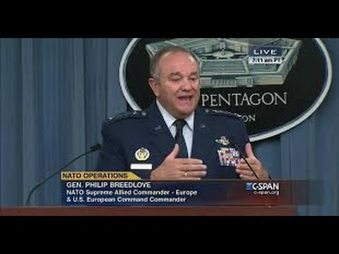 Nato supreme allied commander general breedlove news conference - OCTOBER 30, 2015
