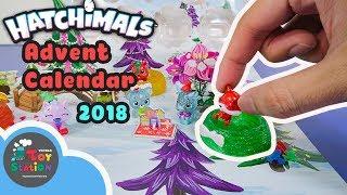 Bộ lịch Hatchimals Christmas Advent Calendar 2018, đếm ngược bất ngờ đến Noel ToyStation 299