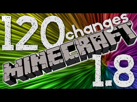 120 CHANGES IN MINECRAFT 1.8!