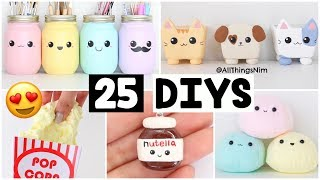 MAKING 25 AMAZING DIY Slimes, Squishies & Room Decor COMPILATION!