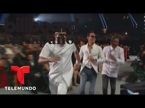 Marc Anthony y Gente de Zona @ La Gozadera, ganan el premio a la Canción Tropical del Año videos