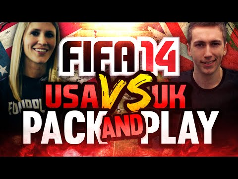 'FRENCH OR ITALIAN?' | FIFA 14 | UK VS USA PACK AND PLAY