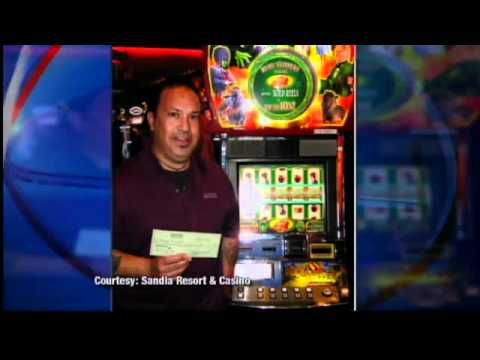 Man wins $1.2 million on slots at Sandia Casino
