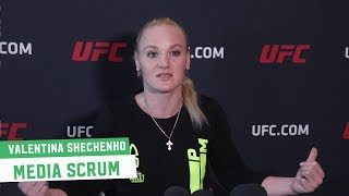 Valentina Shevchenko unfazed by Jessica Eye; says her and Amanda Nunes have unfinished business
