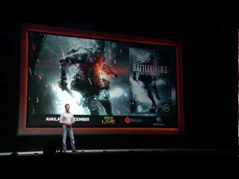 Watch as EA presents Battlefield 3 Premium in this live recording from the 2012 gamescom press conference in Cologne, Germany.