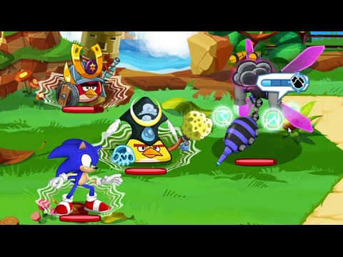 Angry Birds Epic feat Sonic Android İos Free Game GAMEPLAY VİDEO PART 3