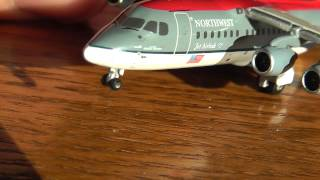 Gemini Jets 1:400 Northwest Airlink BAE-146/Avro RJ-85 Unboxing/Review