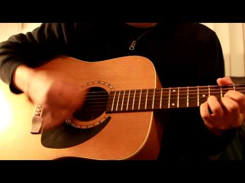 Counting Crows - Accidentally In Love (Acoustic cover) - Canon 500D T1i video